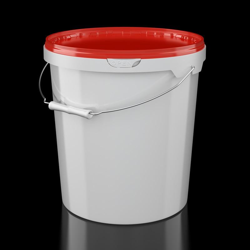 Ведро пластиковое 20 литров пищевое