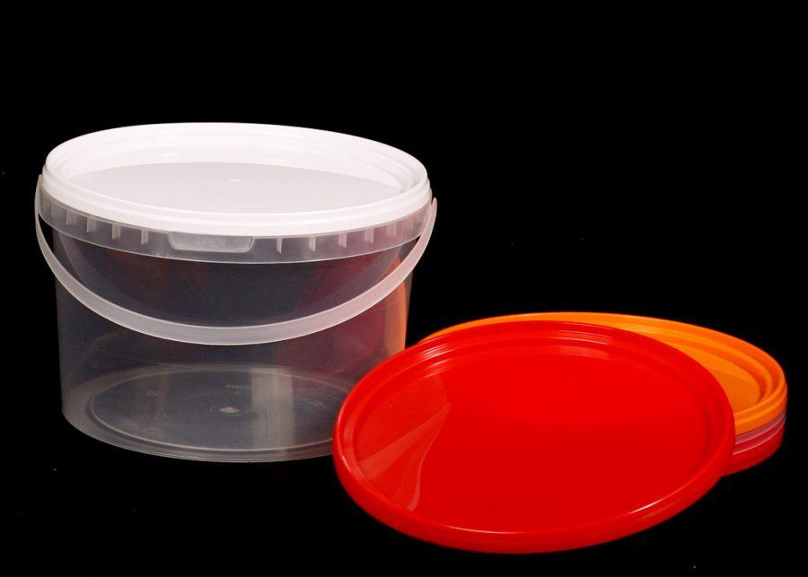 Пластиковое ведро пищевое 2750 мл