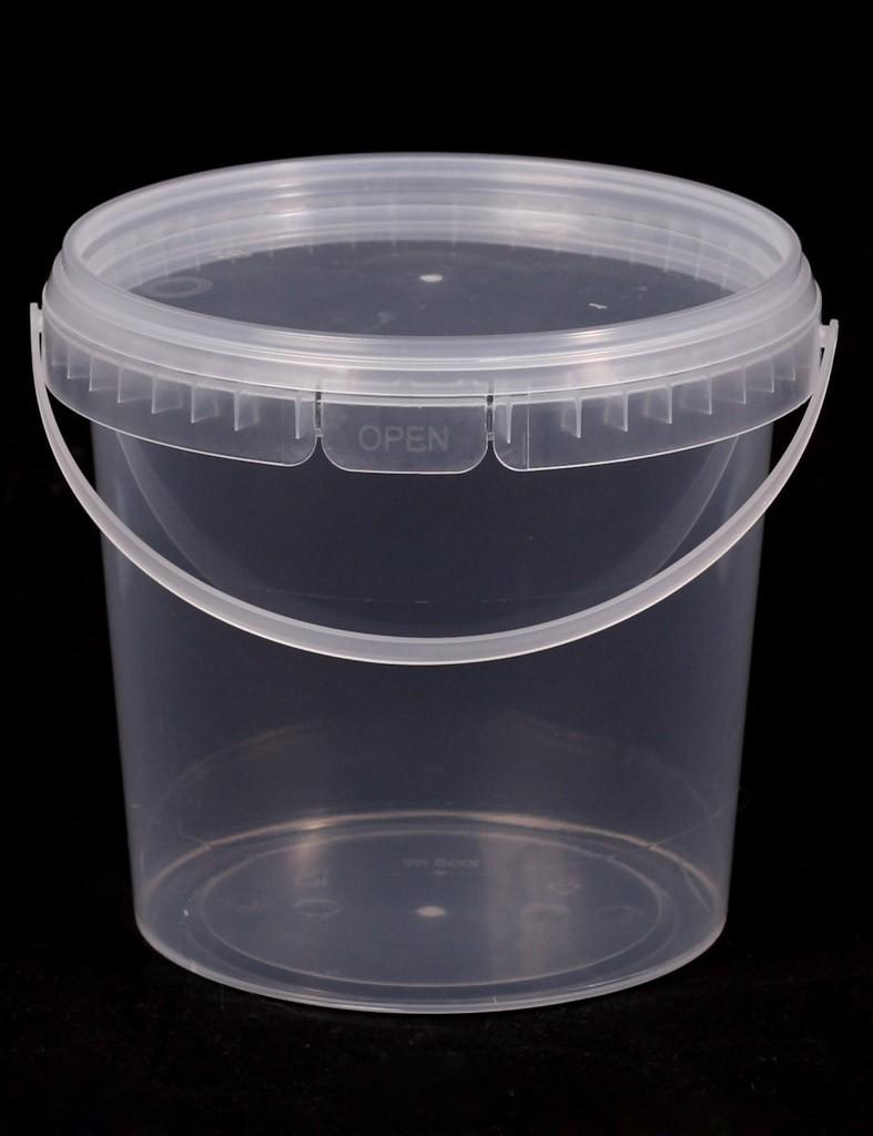 Ведро пластиковое пищевое 1 литр