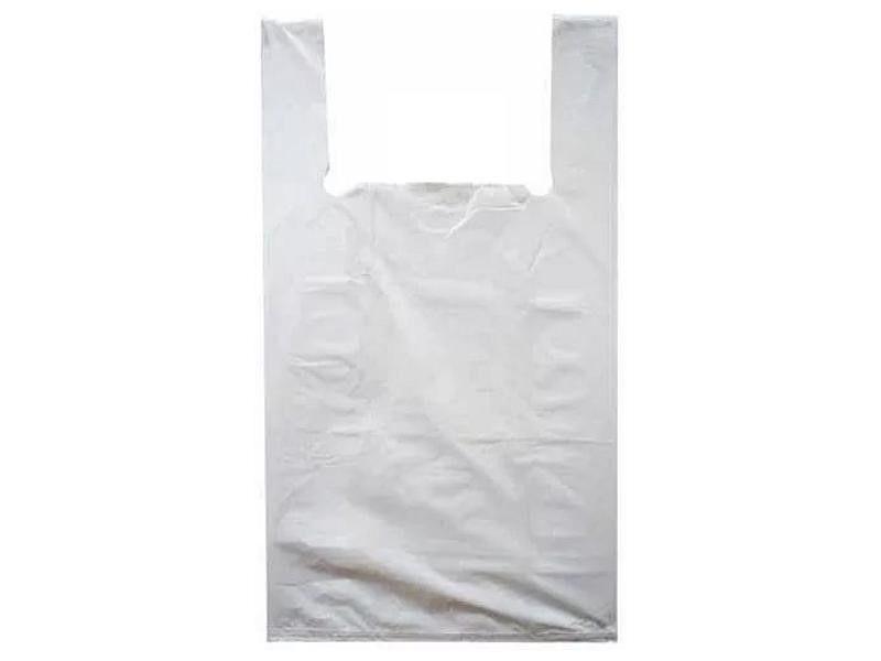 Пакет «Майка» 3016х55 мм 25мкм ПНД белая 3