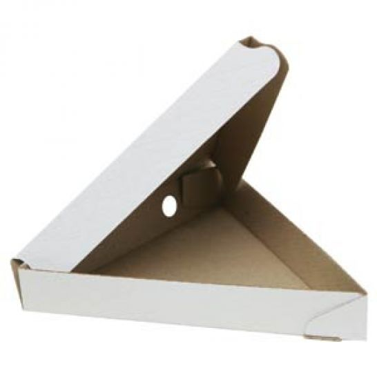Коробка под пиццу треугольная 220х220х220х35 мм
