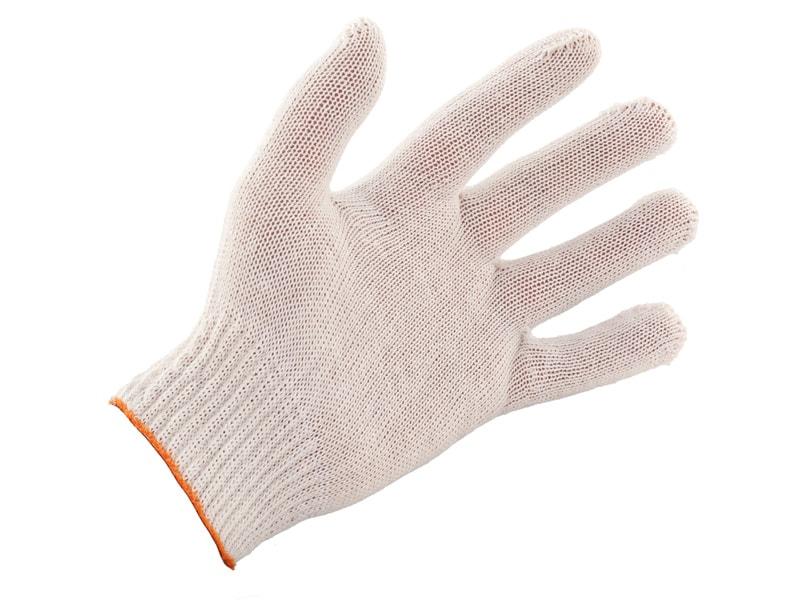 Перчатки х/б без напыления 3 нитка 10 кл 200 шт