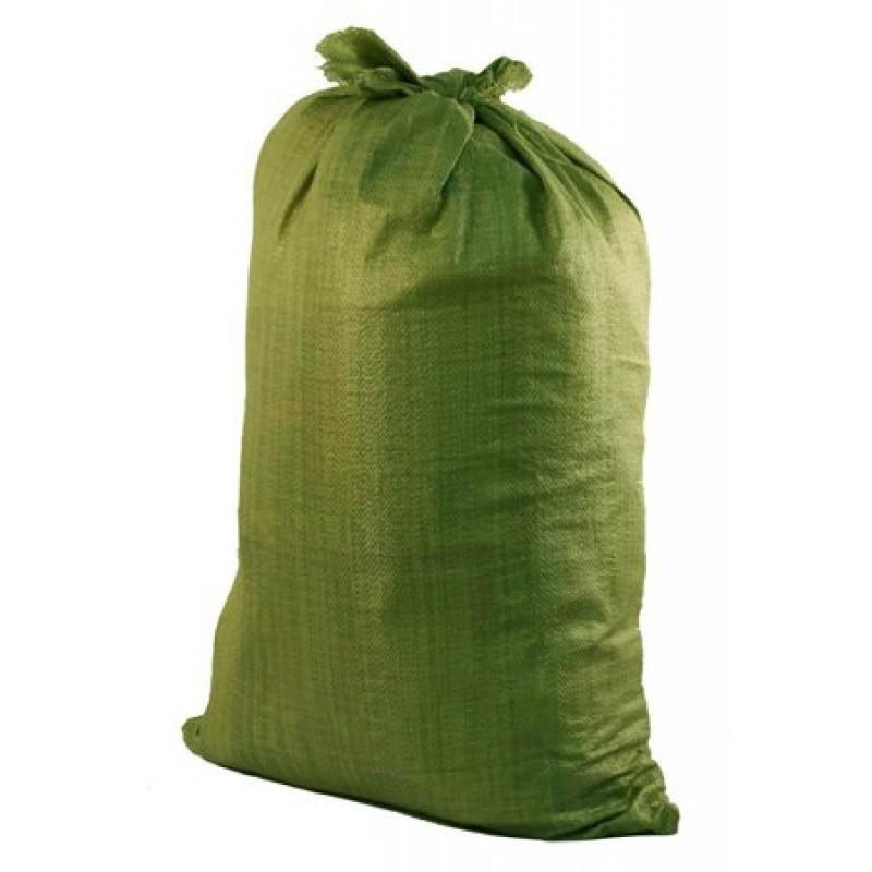 Мешок строительный 55 мм х 105 мм зелёный