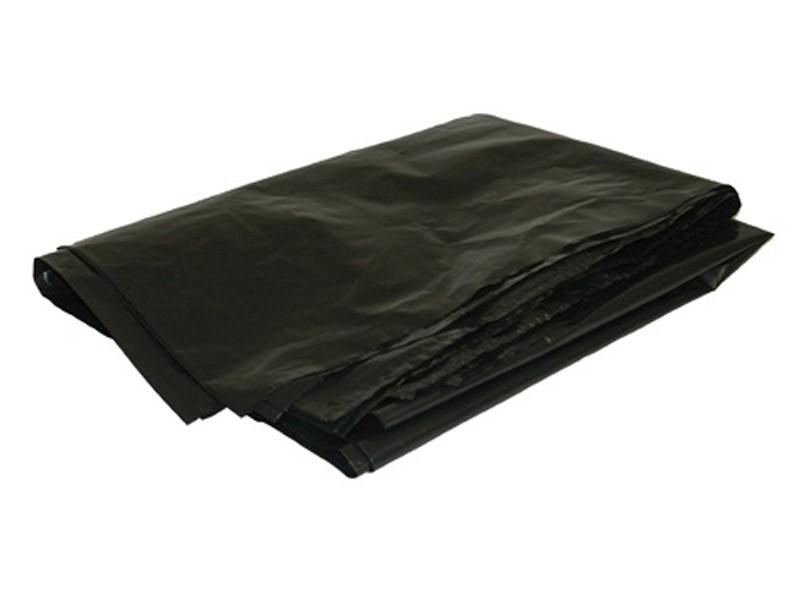 Пакет для мусора в пластах ПВД 120 л 40 мкм
