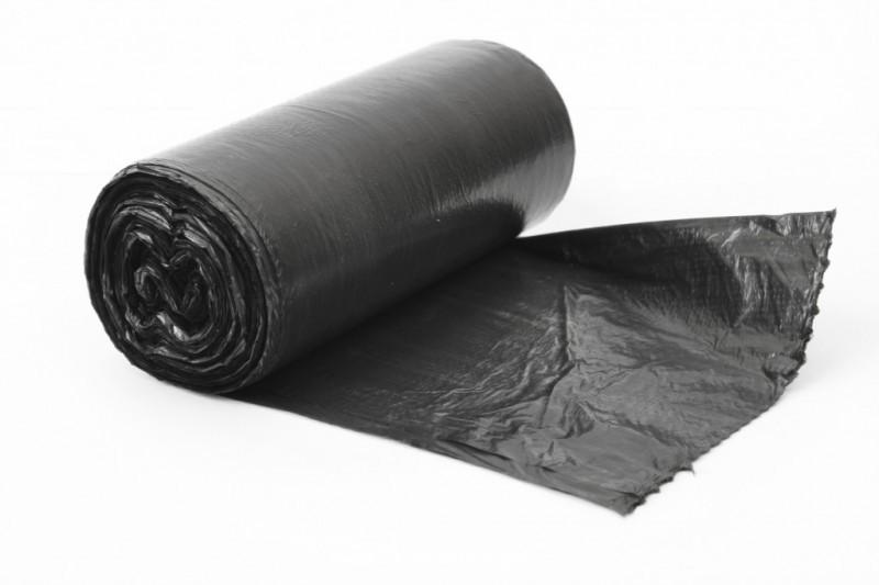 Пакет для мусора ПНД 60 л чёрные