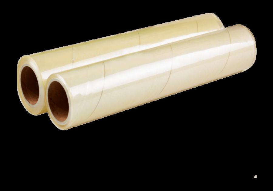 Пленка ПВХ 300 мм х 150 м пищевая (дышащая)