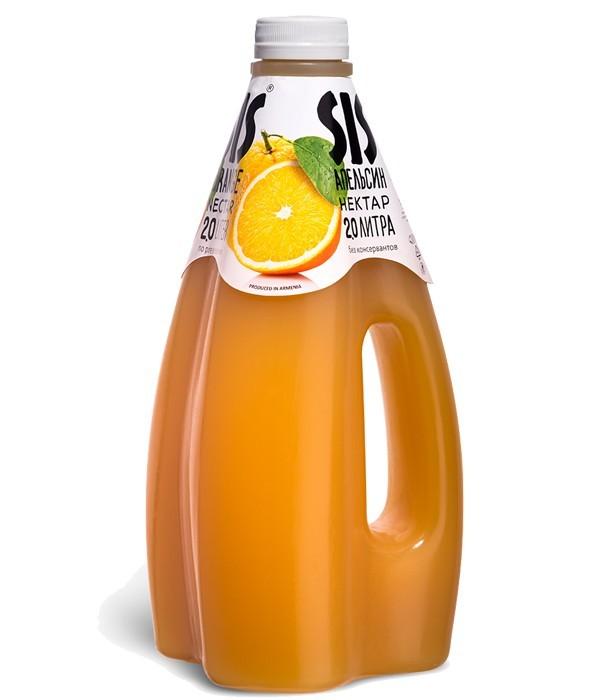 Нектар SIS апельсиновый 1.6 л