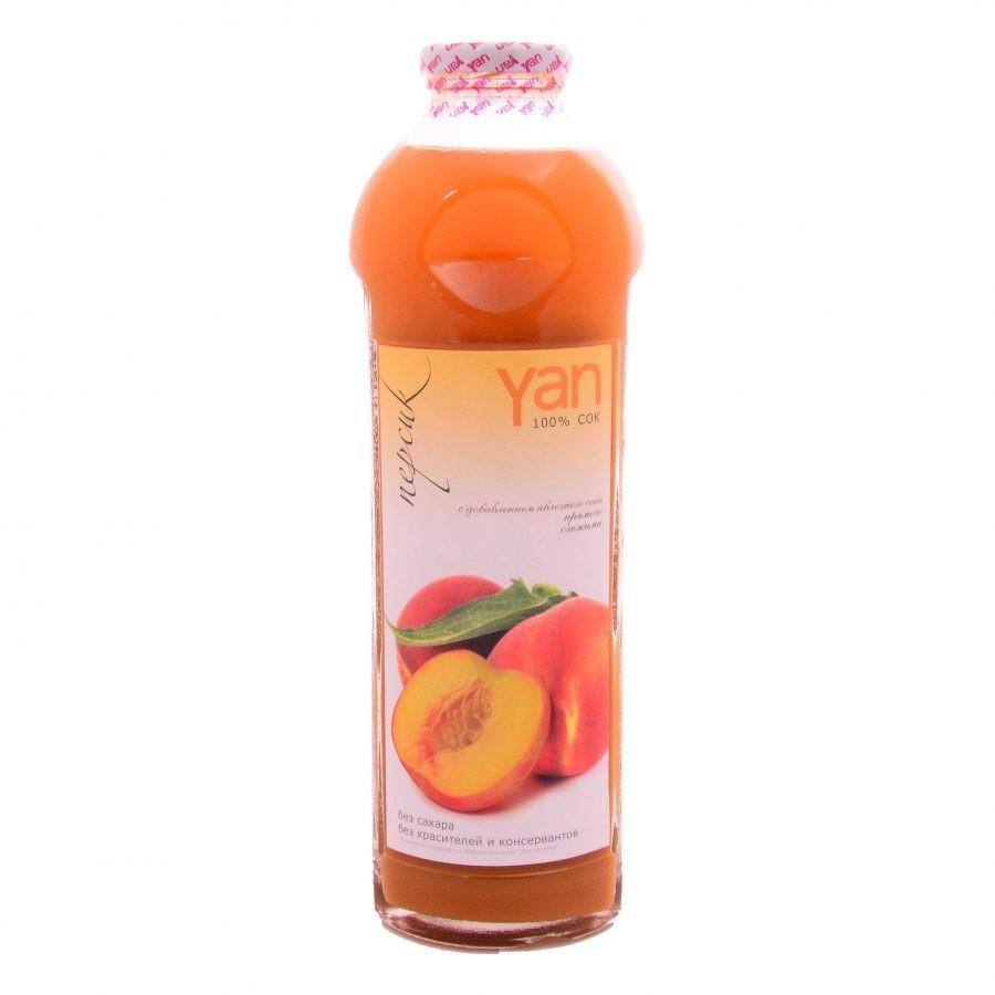 Сок YAN персиковый  0,93 л