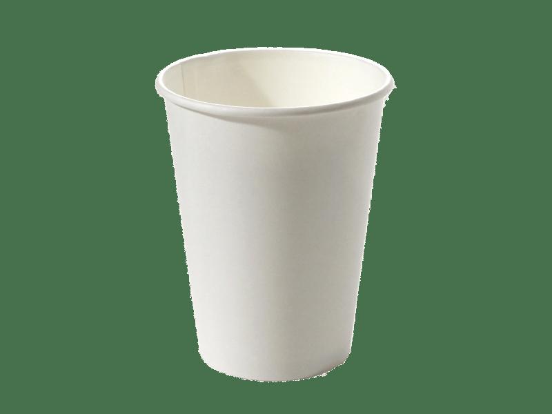 Стакан бумажный 300 мл белый, D-90 мм