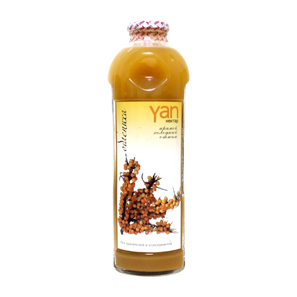 Нектар YAN облепиховый 0,93 л
