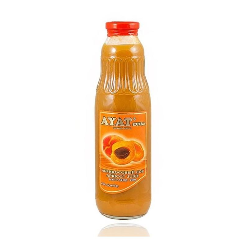 """Абрикосовый сок """"AYAT extra"""" 0,75 л"""