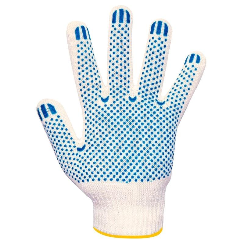 Перчатки хлопчатобумажные, с латексным покрытием «Волна»