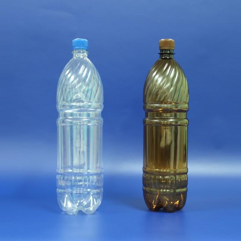 ПЭТ бутылка 1 литр с крышкой