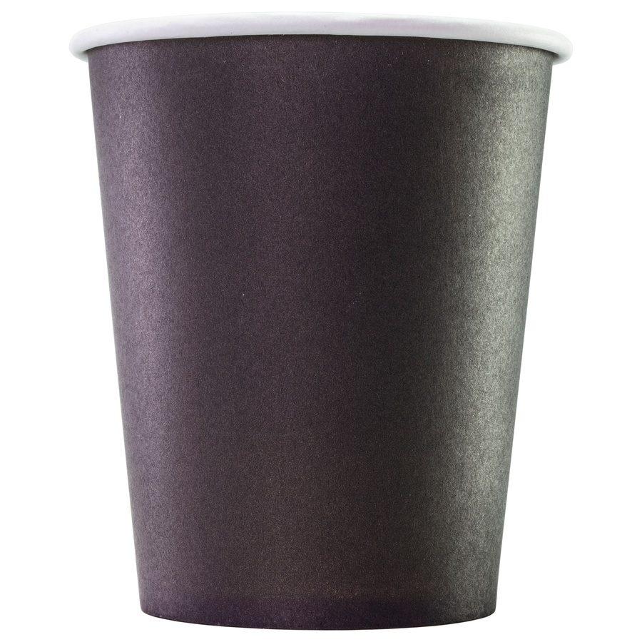 Одноразовый бумажный стакан Black 165 мл