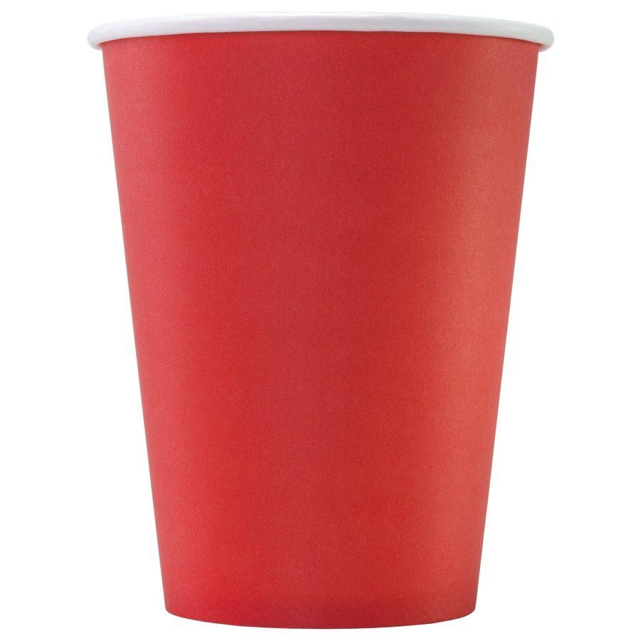 Стакан бумажный одноразовый Red 300 мл