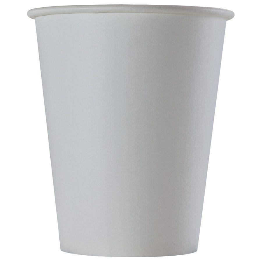 Стакан бумажный одноразовый белый Вендинг 150 мл