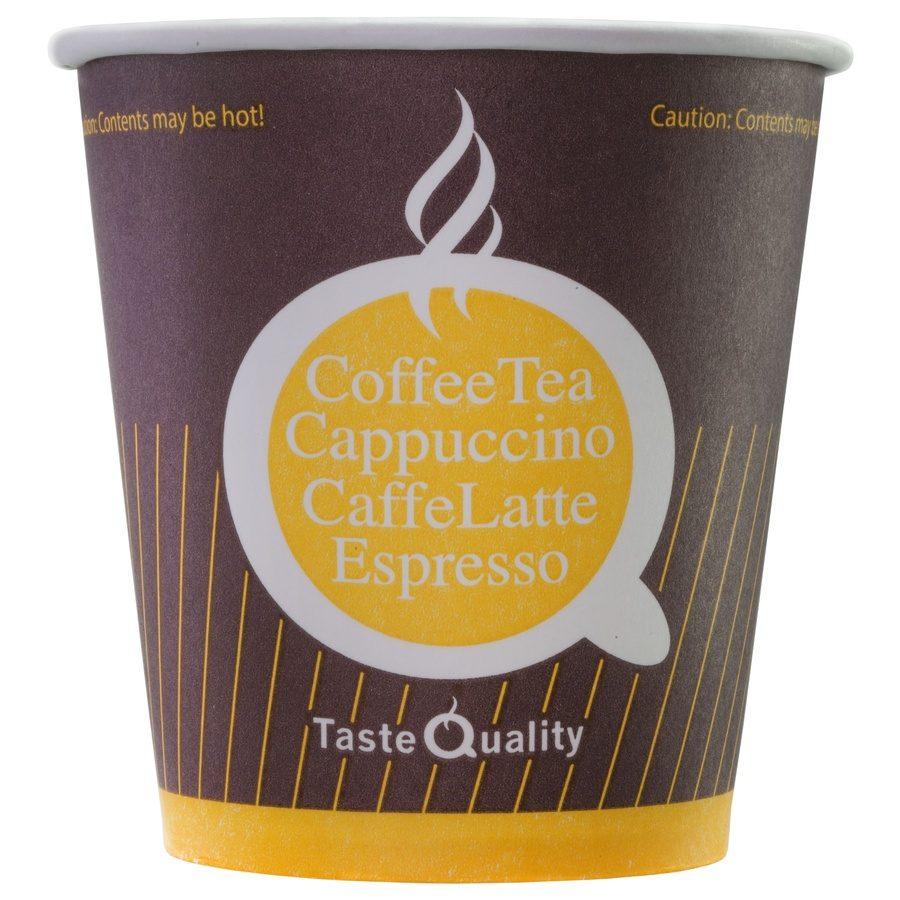 Стакан бумажный одноразовый Taste Quality 160 мл