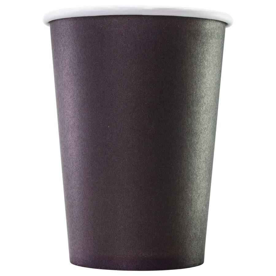 Одноразовый бумажный стакан Black 300 мл