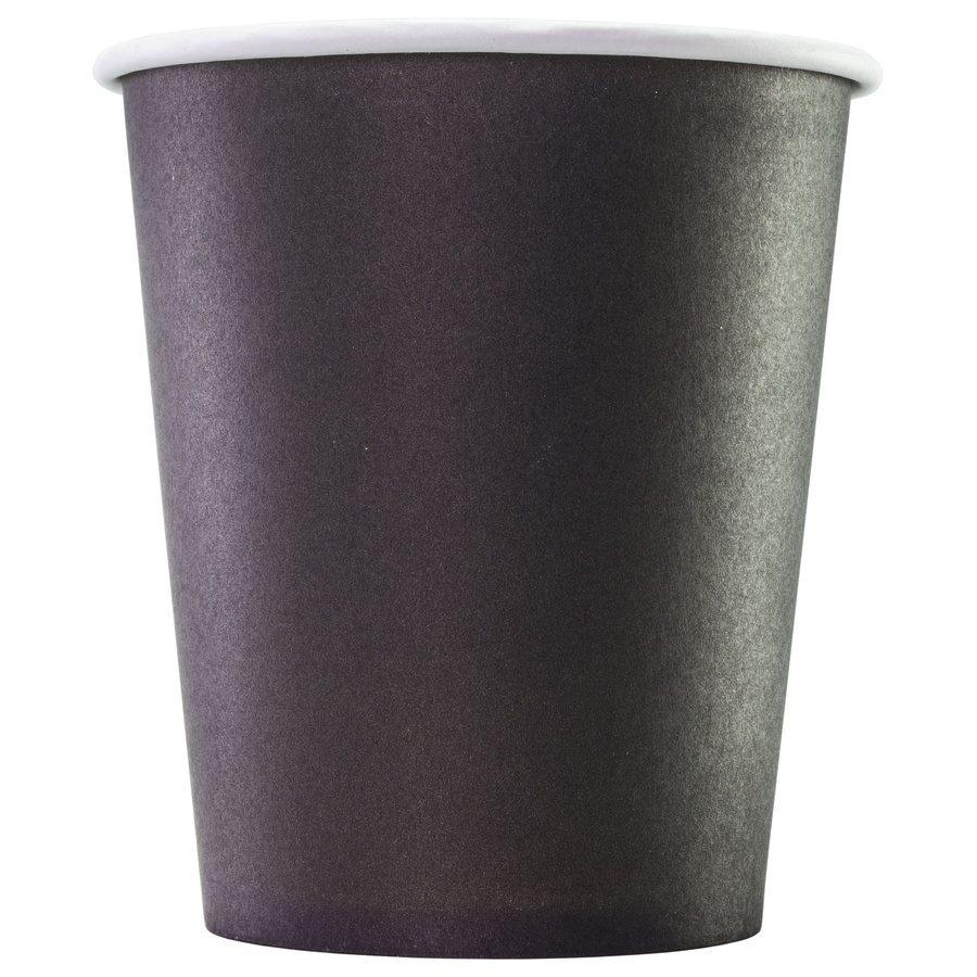 Стакан бумажный одноразовый Black 250 мл