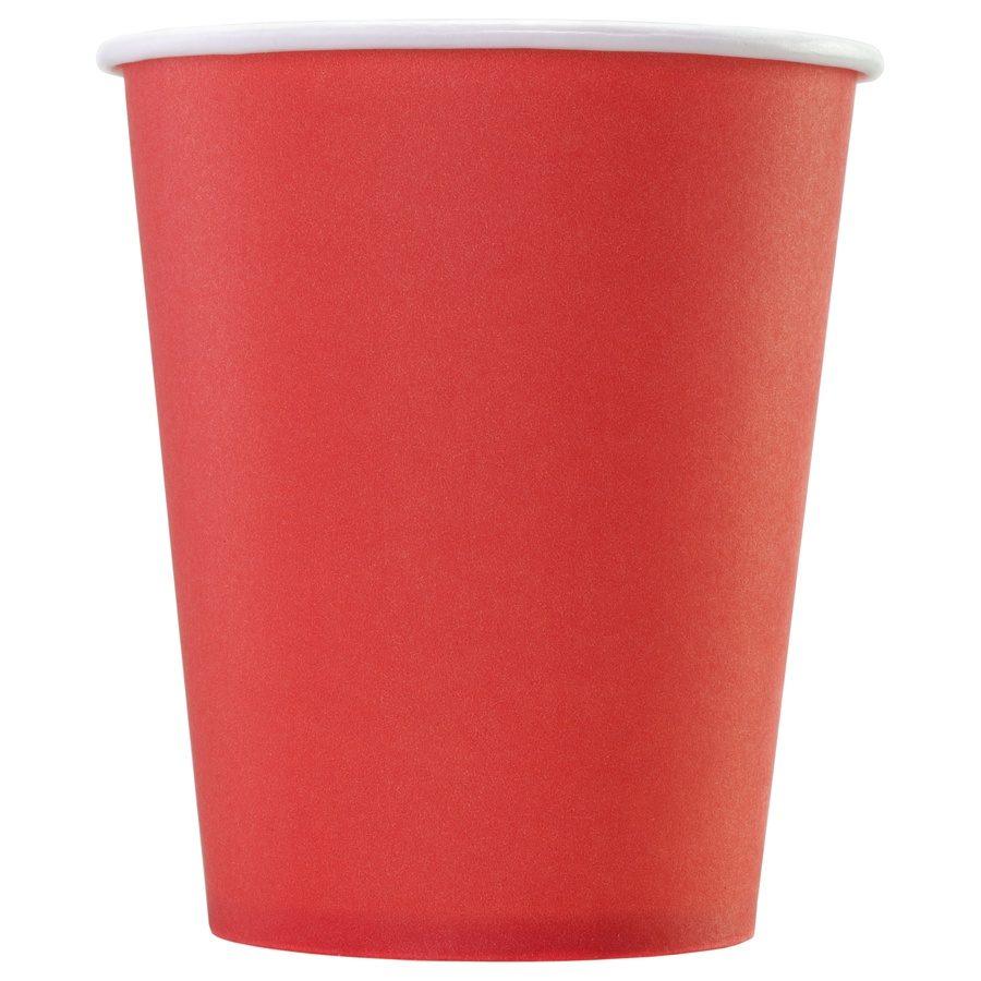 Стакан бумажный одноразовый Red 165 мл